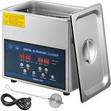 Vevor 3l Liter Ultrasonic Cleaner 3in1 Industry Stainless Steel Heater Withtimer
