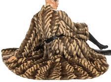 3XL XXL Feh sibirisches Eichhörnchen Pelzmantel Swinger Leicht squirrel fur coat