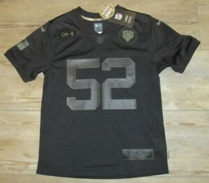 Nike Chicago Bears Khalil Mack #52 OnField Salute to Service Jersey Youth Medium