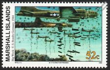 WWII 1944 USAAF Boeing B 17 FLYING FORTRESS Bombing Germany Aircraft Stamp