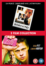 FIGHT CLUB & MEMENTO - DVD - REGION 2 UK