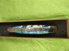 couteaux laguiole 11cm mitres brillant  manche molaire  de mammouth