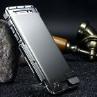 Samsung Galaxy Luxury Rugged Armor Metal Aluminum Hybrid Shockproof Case Cover