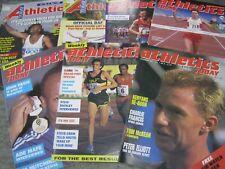 Athletics Today Magazines x 7 - 1987,1988.1989,1993