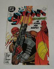 SUPERMAN # 4 DC COMICS April 1987 BLOODSPORT 1st APPEARANCE SUICIDE SQUAD MOVIE