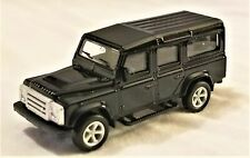 "RMZ City - 3"" Scale Model Land Rover Defender Black (BBUF355010B)"