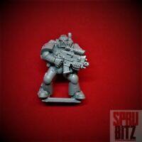 Assault Black Reach Space Marine w/ Boltgun (B) Warhammer 40,000 boxed set bitz