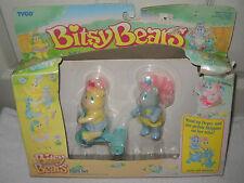 #905* NRFB Vintage Tyco Bitsy Bears Pairs Set Hopsy & Skipples