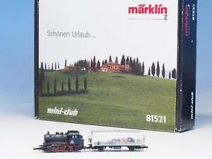 "81521Marklin Z-scale ""Tuscany-Holiday"" starter set, BR89 steam locomotive"