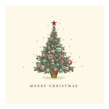 Christmas Cards Twinkly Tree - Pack of 10