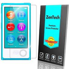 8X ZenTech® Clear Screen Protector Guard Shield For Apple iPod Nano 7 7th Gen