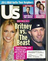 US Weekly Magazine Britney Spears  Fred Durst March 17 2003 JASON PRIESTLEY