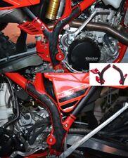 Acerbis X-Grip marco guardias protectores rojo adapta a Beta 350RR 498RR 2013 - 2018