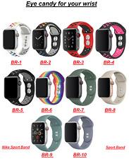 Deporte Reloj Correa Banda Compatible Para Apple 38/40/42/44mm iWatch serie 5/4/3/2