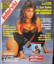 INTERVIU:NUM.632-SABRINA-VICKY LARRAZ (SPANISH MAGAZINE)