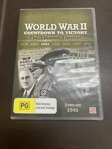 World War II Countdown To Victory The Ultimate Timeline 1941 - DVD (R4 PAL)