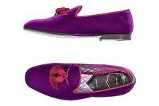 Tom Ford 7US/6UK William Velvet Evening Slipper Fuchsia Purple With Tassel