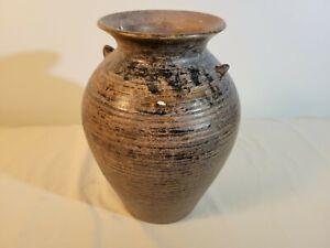 Brown Storage Jar from Sawankhalok, Thailand (15th Century)