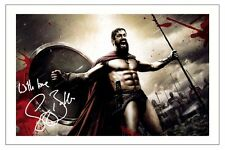GERARD BUTLER 300 KING LEONIDAS SIGNED PHOTO PRINT AUTOGRAPH