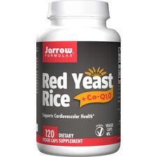 Red Yeast Rice + CoQ10, 600mg x 120Caps, Heart, Cholesterol, Jarrow Formulas