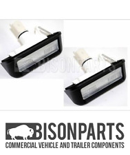 *FIAT SCUDO (2007 - 2015) REAR NUMBER PLATE LAMPS 6340G7 - CIT058 X 2