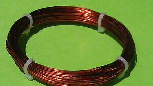 0.40mm 100ft. 26-Gauge Enameled Copper Magnet Wire conductor craft art jewelry
