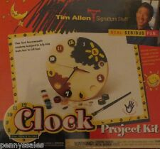 Tim Allen Clock Project Kit for Ages 3-103 NEW FACTORY SEALED