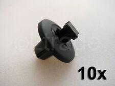 10x Befestigungsclips Spreiznieten Verkleidung Peugeot 206 307 406 607 Klips Neu