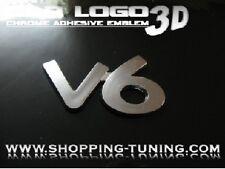 LOGO EMBLEM 3D TUNING V6 PEUGEOT 306 307 308 607