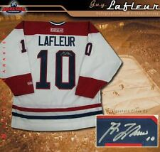 GUY LAFLEUR Signed Montreal Canadiens White CCM Jersey