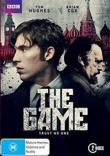 THE GAME -Tom Hughes Brian Cox AS NEW BBC Cold War Spy Mini Series 2xDVD R4 RARE