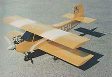 Double Trouble Sport Biplane  Plans, Templates, Instructions