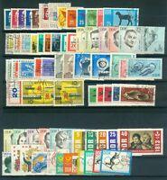 DDR Jahrgang 1963 , gestempelt , Auswahl aus Michel Nr. 934 - 1003