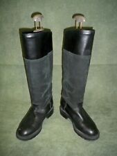 Blondo Black Leather Riding Boots Made in Canada - Size 7