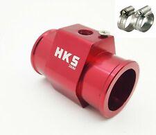 38mmCar Water Temperature Temp Sensor Gauge Radiator Hose Joint Pipe Adapter