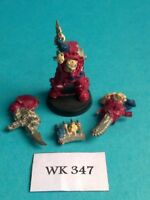 Warhammer 40K - Chaos Space Marines - Terminator w/ Chainfist - Metal WK347