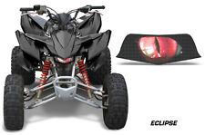 AMR Racing Head Light Eyes Honda TRX 400EX ATV Headlight Decals Part ECLIPSE RED