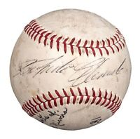 Roberto Clemente Single Signed Autographed Baseball PSA DNA COA