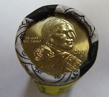 US Mint Wrapped BU 2006-P Sacagawea Native American Golden Dollar 25 Coin Roll