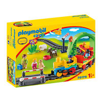 Playmobil 1-2-3 My First Train Building Set 70179 NEW Learning Toys