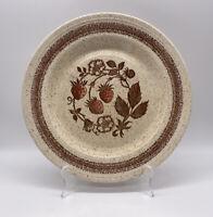 "Churchill Wild Strawberry Dinner Plate 10 1/4"" Homespun Hand Painted England"