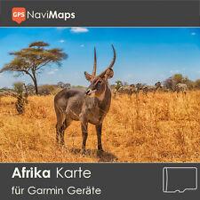Topo Karte Afrika Garmin Edge GPSMap Etrex Nüvi Astro Oregon Dakota Montana