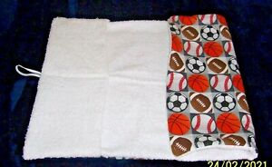 Baby Sports Design Diaper Changing Pad Portable Soft Washable Mat Travel Gift