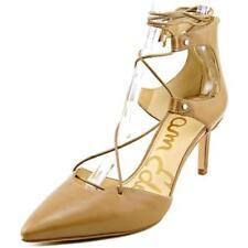 Zapatos de tacón de mujer Sam Edelman de tacón alto (más que 7,5 cm) de color principal beige