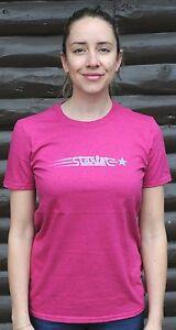 Vintage Pink Starlet Bike T Shirt   Retro Antique Schwinn Ladies Cruiser Bicycle