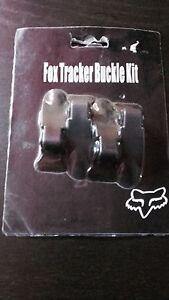Boucles pour bottes de moto cross enduro FOX tracker buckle kit