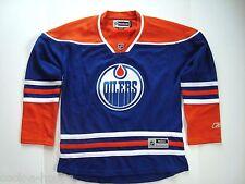 Edmonton Oilers Blue Women's Premier NHL Reebok Hockey Jersey NEW Size M