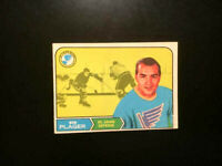 HOCKEY CARD NHL 1968 BOB PLAGER ROOKIE ST.LOUIS BLUES NICE CARD OPC #112-EXNM