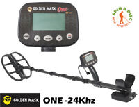 GOLDEN MASK ONE 24KHZ LITE METAL DETECTOR