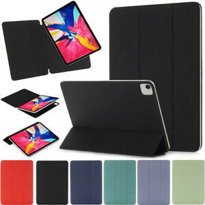 "For iPad Pro 11"" 12.9"" Air 10.9"" 2020 Smart Frameless Magnetic Cover Stand Case"